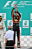 1st October 2017, Sepang, Malaysia;  FIA Formula One World Championship, Grand Prix of Malaysia; Max Verstappen (NEL 33), Red Bull Racing