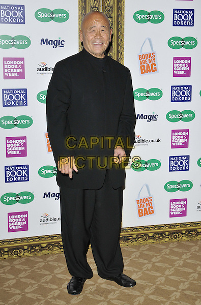 LONDON, ENGLAND - NOVEMBER 26: Ken Hom attends the Specsavers National Book Awards 2014, Foreign &amp; Commonwealth Office, King Charles St., on Wednesday November 26, 2014 in London, England, UK. <br /> CAP/CAN<br /> &copy;Can Nguyen/Capital Pictures