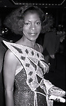 Roxie Roker attends ICAN Fundraiser Dinner on September 19, 1986 at the Beverly Hilton Hotel in Beverly Hills, California.