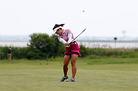 Su Oh (AUS) hits her second shot on the second hole during the final round of the ShopRite LPGA Classic presented by Acer, Seaview Bay Club, Galloway, New Jersey, USA. 6/10/18.<br /> Picture: Golffile   Brian Spurlock<br /> <br /> <br /> All photo usage must carry mandatory copyright credit (&copy; Golffile   Brian Spurlock)