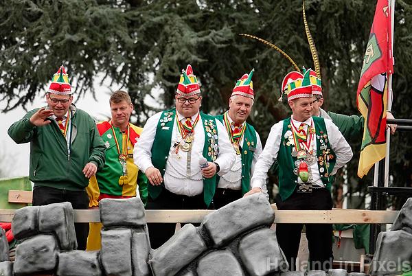 Nederland  Oss  -  2018. Halfvastenoptocht in Oss. Jaarlijkse afsluiting van het Carnaval seizoen.   Foto Berlinda van Dam / Hollandse Hoogte