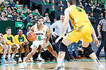 DENTON TEXAS, March 30: University of North Texas Mean Green Men's Basketball v University of San Francisco at the Super Pit in Denton on March 30, 2018 (Photo Rick Yeatts Photography/Colin Mitchell)