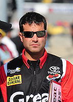 May 1, 2009; Richmond, VA, USA; NASCAR Nationwide Series crew chief Scott Zipadelli prior to the Lipton Tea 250 at the Richmond International Raceway. Mandatory Credit: Mark J. Rebilas-