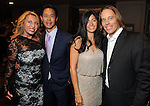 From left: Tiffany and Randall Wong with Daniela and Edward Group at the Una Notte in Italia event at the Westin Galleria Hotel Friday Nov. 07, 2014.(Dave Rossman photo)