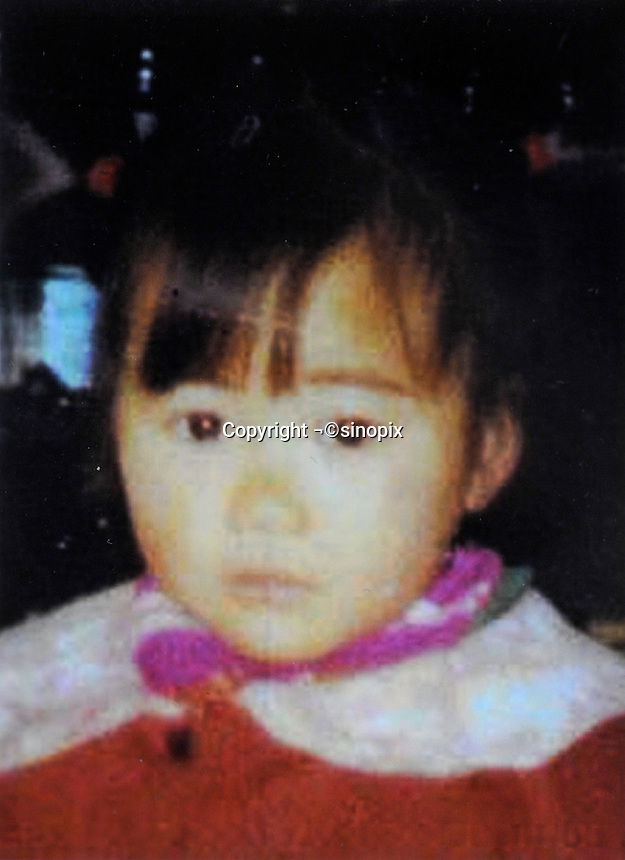 Mao Na (3), born in 1991. Missing outside a wholesale market in Yueyang City on 13 May 1994.   Girls in China are increasingly targeted and stolen as there is a shortage of wives as the gender imbalance widens with 120 boys for every 100 girls..PHOTO BY SINOPIX