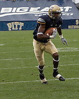 08 September 2007: Pitt wide receiver Oderick Turner..The Pitt Panthers defeated the Grambling State Tigers 34-10 on September 08, 2007 at Heinz Field, Pittsburgh, Pennsylvania.