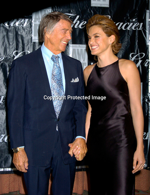 Mickey and Mariska Hargitay  ..at the 2004 Gracie Allen Awards on June 22, 2004 at The New York Hilton.  American Women in Radio & Television ..Gracie Allen Awards Gala celebrates exemplary programming created for women, by women and about ..women...Photo by Robin Platzer, Twin Images