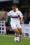 UEFA Women's Champions League 2017/2018.<br /> Quarter Finals.<br /> FC Barcelona vs Olympique Lyonnais: 0-1.<br /> Selma Bacha.
