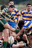 James Cook High School vs Manurewa High School. Counties Manukau High School finals held at Bruce Pulman Park Papakura on Saturday 22nd of August 2009.