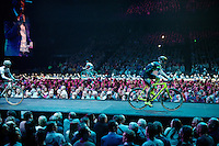 'Merci Sven' (twice!) sold out arena event: <br /> tribute-show celebrating Sven Nys' career/retirement together with 18.000 people in the Sportpaleis Arena