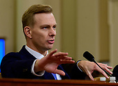 David A. Holmes, Political Counselor, United States Embassy in Kyiv, Ukraine, on behalf of US Department of State, testifies during the US House Permanent Select Committee on Intelligence public hearing as they investigate the impeachment of US President Donald J. Trump on Capitol Hill in Washington, DC on Thursday, November 21, 2019.<br /> Credit: Ron Sachs / CNP<br /> (RESTRICTION: NO New York or New Jersey Newspapers or newspapers within a 75 mile radius of New York City)