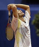 20031211, Rotterdam, LSI Masters,Baet Beks verliest van Peter Wessels