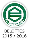 BELOFTEN 2015 - 2016