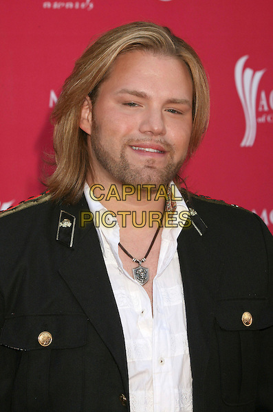JAMES OTTO .42nd Annual Academy Of Country Music Awards held at the MGM Grand Garden Arena, Las Vegas, Nevada, USA..May 15th, 2007.headshot portrait stubble facial hair .CAP/ADM/BP.©Byron Purvis/AdMedia/Capital Pictures