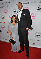 BEVERLY HILLS, CA. October 8, 2016: Brian Cook &amp; Victoria Velasquez at the 2016 Carousel of Hope Ball at the Beverly Hilton Hotel.<br /> Picture: Paul Smith/Featureflash/SilverHub 0208 004 5359/ 07711 972644 Editors@silverhubmedia.com