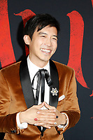 """LOS ANGELES - MAR 9:  Jimmy Wong at the """"Mulan"""" Premiere at the Dolby Theater on March 9, 2020 in Los Angeles, CA"""