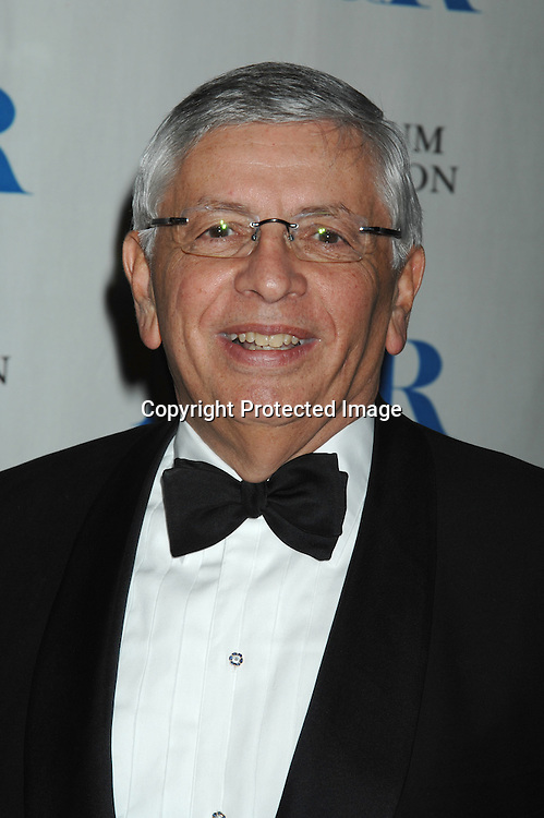 David Stern, Commissioner of the NBA..at The Museum of TV & Radio Annual 2007 Gala on ..February 8, 2007 honoring Sir Howard Stringer,Sony Corporation CEO and Chairman at The Waldorf Astoria..Hotel in New York. ..Robin Platzer, Twin Images..