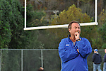 Mike Holcomb has coached the Breathitt County High School football team for 30 years. Holcomb led the school's three state championship teams and had a 42 game winning streak from 1995 to 1997. He is also the county's athletic director. | Photo by Taylor Moak