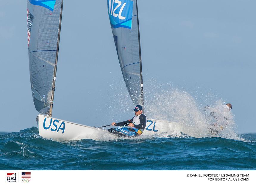 Finn USA Caleb Paine USACP65<br /> <br /> 2016 Olympic Games <br /> Rio de Janeiro<br /> <br /> 2016 Olympic Games <br /> Rio de Janeiro