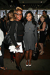 Recording Artist Mary J Blige and Person of Interest Actress Taraji P. Henson Attend Catherine Malandrino Spring Summer 2014 Presentation (Les Voiles De Saint Tropez) Held at Mercedes Benz Fashion Week NY