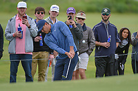 Brooks Koepka (USA) chips up on to 2 during round 2 of the AT&T Byron Nelson, Trinity Forest Golf Club, Dallas, Texas, USA. 5/10/2019.<br /> Picture: Golffile | Ken Murray<br /> <br /> <br /> All photo usage must carry mandatory copyright credit (© Golffile | Ken Murray)