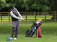 Neil O'Briain (IRL) on there driving range during the Pro-Am of the Bridgestone Challenge 2017 at the Luton Hoo Hotel Golf &amp; Spa, Luton, Bedfordshire, England. 06/09/2017<br /> Picture: Golffile | Thos Caffrey<br /> <br /> <br /> All photo usage must carry mandatory copyright credit     (&copy; Golffile | Thos Caffrey)