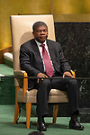 DSG meeting<br /> <br /> AM Plenary General DebateHis<br /> <br /> <br /> His Excellency Jo&atilde;o Manuel Gon&ccedil;alves Louren&ccedil;o, President, Republic of Angola