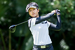 Golfer Pannapa Polnamin of Thailand during the 2017 Hong Kong Ladies Open on June 10, 2017 in Hong Kong, Hong Kong. Photo by Chris Wong / Power Sport Images.