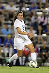 29 September 2011: Duke's Mollie Pathman. The Duke University Blue Devils and the University of Virginia Cavaliers played to a 0-0 tie after overtime at Koskinen Stadium in Durham, North Carolina in an NCAA Division I Women's Soccer game.