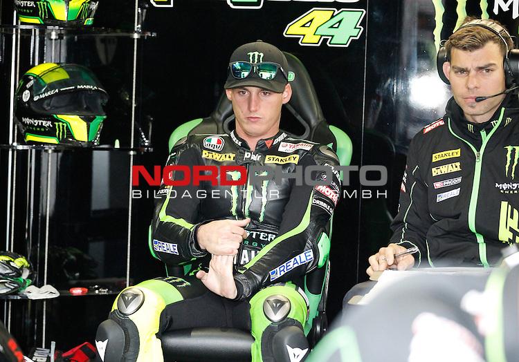Monster Energy Grand Prix de France in Le Mans 15.-17.05.2015, Free Practice, Qualifying, Box.<br /> <br /> 44 Pol Espargar&oacute; / Spanien<br /> <br /> Foto &copy; nordphoto / FSA