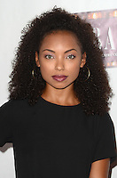 HOLLYWOOD, CA - JULY 20: Logan Browning at the opening of 'Cabaret' at the Pantages Theatre on July 20, 2016 in Hollywood, California. Credit: David Edwards/MediaPunch