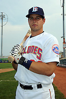 Brooklyn Cyclones catcher Kevin Plawecki (26) during game against the Connecticut Tigers at MCU Park on August 03, 2012 in Brooklyn, NY.  Brooklyn defeated Connecticut 3-0.  Tomasso DeRosa/Four Seam Images