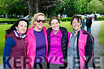 Trish Naughton, Deloras McElligott, Claire Hudson and Kay Naughton at the James Cahill walk in aid of Kerry Mountain rescue in Muckross on Saturday
