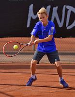 Netherlands, Rotterdam August 05, 2015, Tennis,  National Junior Championships, NJK, TV Victoria, Thieme Thelosen<br /> Photo: Tennisimages/Henk Koster