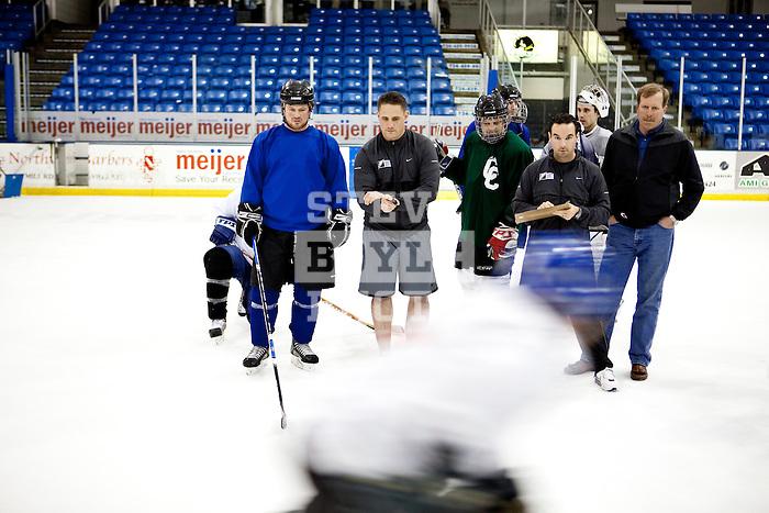 Gatorade REPLAY Season 2 - Catholic Central High School ice hockey..2010 © Steve Boyle