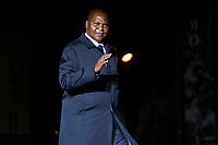 Cyril Ramaphosa ( President Afrique du Sud )<br /> Parigi 10-11-2018 <br /> Museo d'Orsay Cena Ufficiale Capi di Stato <br /> Commemorazione 100 anni dalla fine della Grande Guerra, Prima Guerra Mondiale <br /> Foto Gwendoline LeGoff/Panoramic / Insidefoto