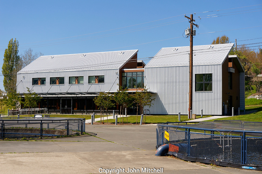 The Perry Center for Fisheries and Aquaculture Sciences, Maritime Heritage Center, Bellingham, Washington state, USA