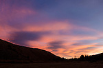 Sunset clouds, Green Creek area, Toiyabe National Forest, California
