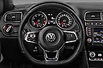 Car pictures of steering wheel view of a 2016 Volkswagen Polo Blue-GT 5 Door Hatchback Steering Wheel