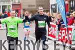 Brian O'Sullivan, 284 and Ian O'Sullivan, 286 who took part in the 2015 Kerry's Eye Tralee International Marathon Tralee on Sunday.