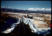 Track &amp; siding. Stock pen to right.<br /> D&amp;RGW