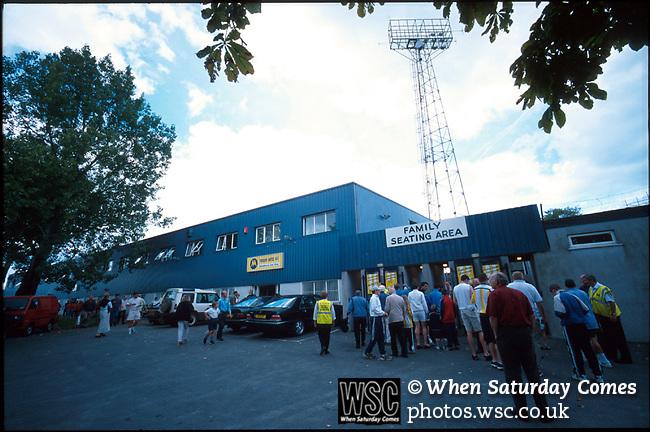 Plainmoor, home of Torquay United FC. Photo by Tony Davis