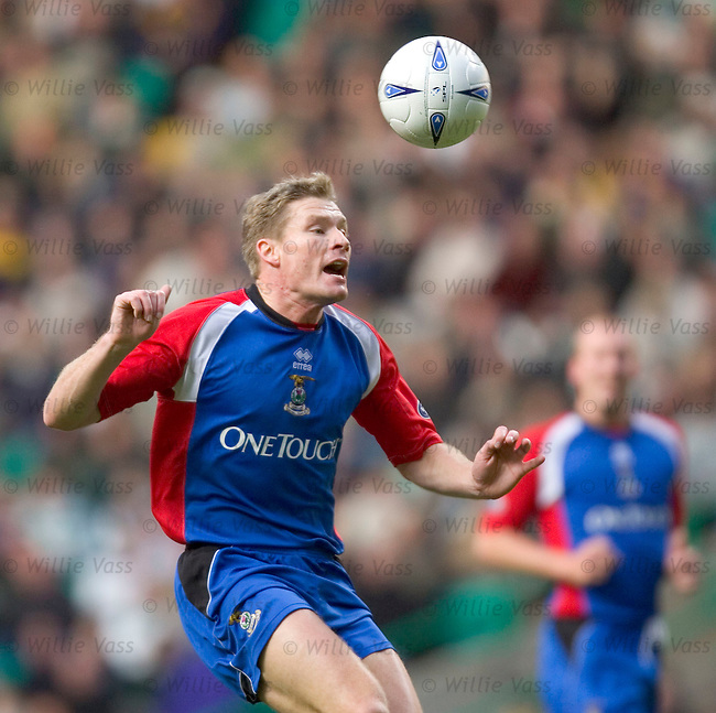 Darren Dods, Inverness Caledonian Thistle.stock season 2004-2005.pic willie vass