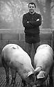11/01/17 - LA SALESSE - LOT - FRANCE - Portrait de David ASFAUX - Photo Jerome CHABANNE