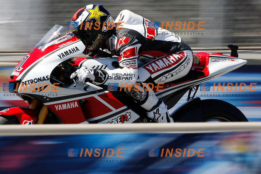 © Insidefoto/Semedia..22-07-2011 Laguna Seca (USA)..Motogp - Motogp..in the picture: Jorge Lorenzo - Yamaha factory team