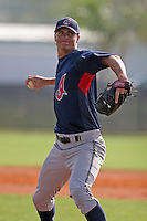 Cleveland Indians minor leaguer JD Martin during Spring Training at the Chain of Lakes Complex on March 16, 2007 in Winter Haven, Florida.  (Mike Janes/Four Seam Images)