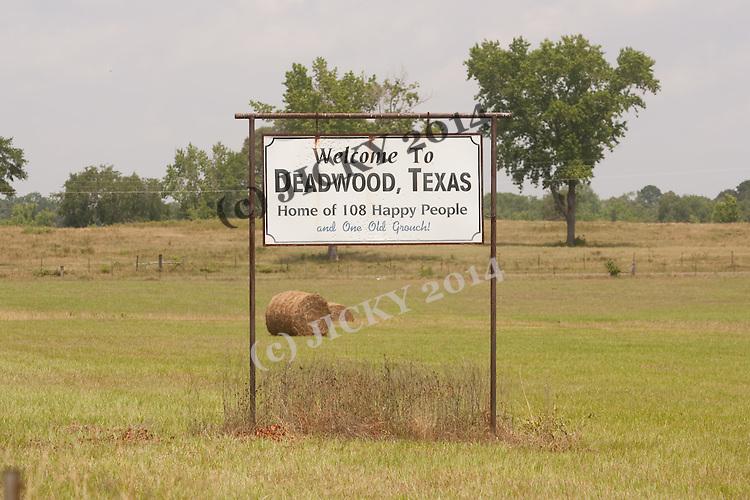 Deadwood - town sign