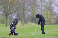 Thalia Kirby (ENG) on the 1st fairway during Round 1 of the Irish Girls U18 Open Stroke Play Championship at Roganstown Golf &amp; Country Club, Dublin, Ireland. 05/04/19 <br /> Picture:  Thos Caffrey / www.golffile.ie