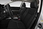 Front seat view of 2014-2016 Acura RLX Base 4 Door Sedan front seat car photos