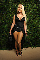 NEW YORK, NY - NOVEMBER 6: Nicki Minaj at the 14th Annual CFDA Vogue Fashion Fund Gala at Weylin in Brooklyn, New York City on November 6, 2017. <br /> CAP/MPI/JP<br /> &copy;JP/MPI/Capital Pictures